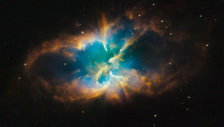 Ngc 2818 By The Hubble Space Telescope