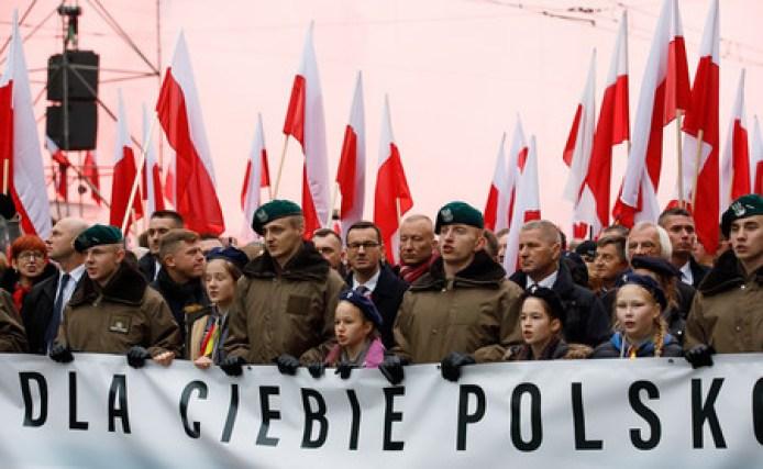 Polonia cumple 100 años, y lo está celebrando del modo más inquietante posible