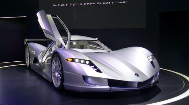Permalink to Este superdeportivo es eléctrico, japonés y busca hacer sombra al Tesla Roadster con su 0 a 100 km/h en sólo 1,9 segundos