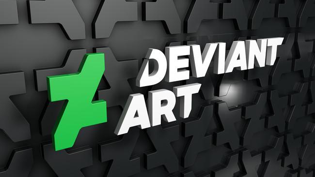 The New Deviantart Logo 3d By Dracu Teufel666 D88zi3t