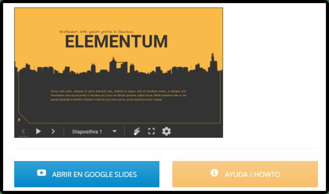 Elementum Template Para Google® Slides Free Google® Slides Templates