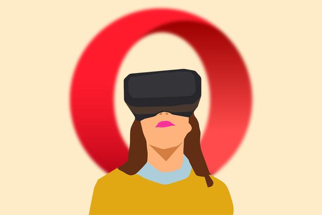 Realidad Virtual Reproductor 360 Opera