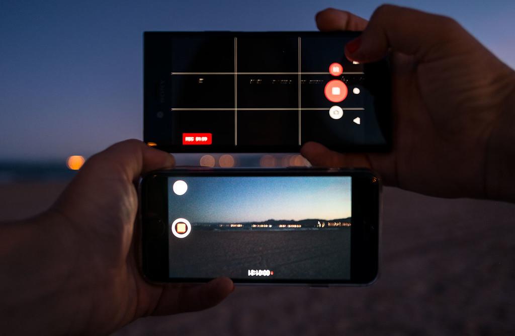 Sony Xperia Xz1 Captura Video