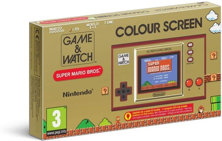 Nintendo Game Watch Super Mario Bros