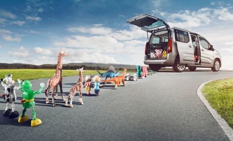 Opel Combo Life, toda una navaja suiza 'made in' Spain