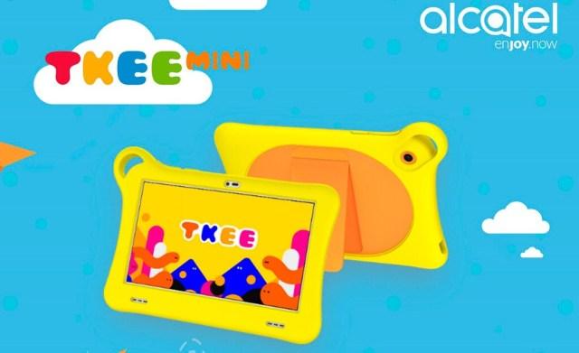 Alcatel Tkee Mini, una tableta barata diseñada específicamente para los niños