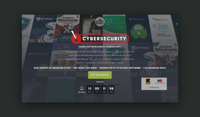 Humble Bundle Ciberseguridad