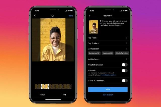 Instagram unifica IGTV y las publicaciones de vídeo, aumenta su duración óptima y otros cambios