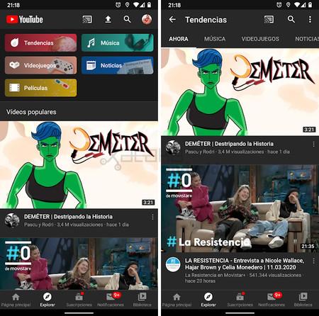 Youtube Explorar