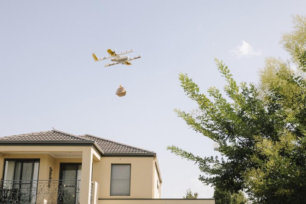 Los drones mensajeros ya son una realidad: Google® y Project Wing inician en Australia el 1° servicio comercial del mundo