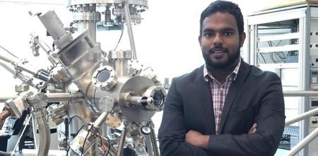 Scientist Ishara Dharmasena