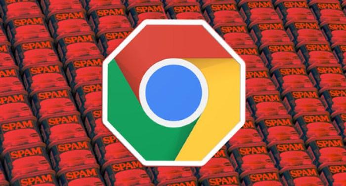 """Resultado de imagen de google chrome spam"""""""