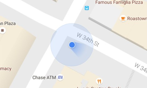 Maps Punto Azul