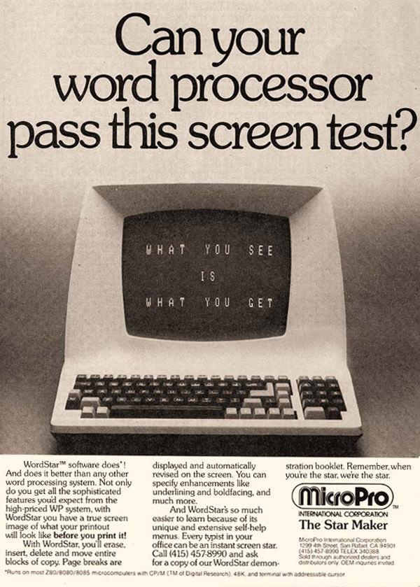 Micropro Wordstar