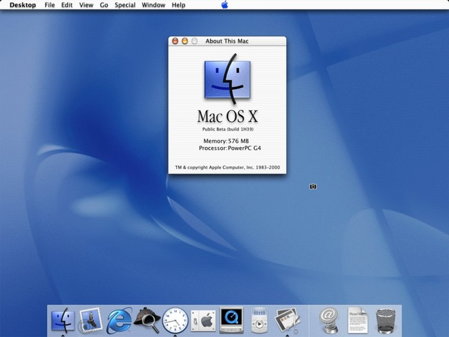 Mac Os X 10 Public Beta Kodiak About This Mac