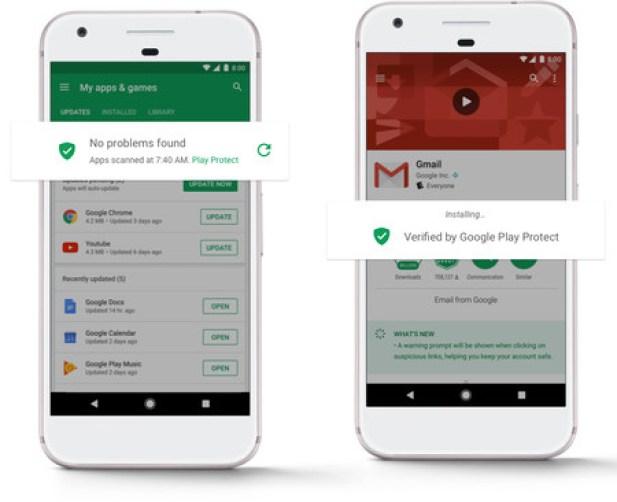 Google Play Protect 1