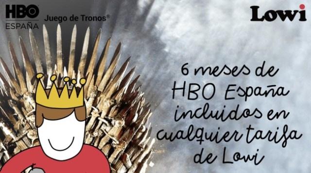 Lowi continua creciendo: ahora integra seis meses de HBO gratis(free) en todas sus tarifas