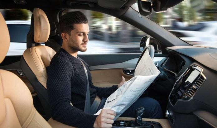 Conduccion Autonoma Volvo