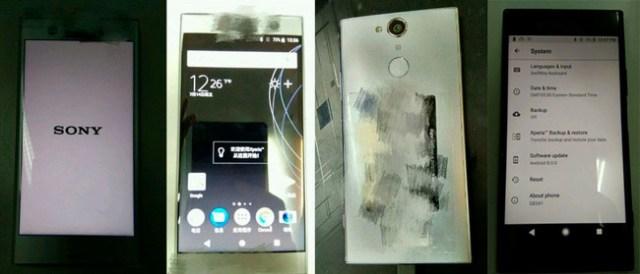 Sony Xperia Xz1 y Compact