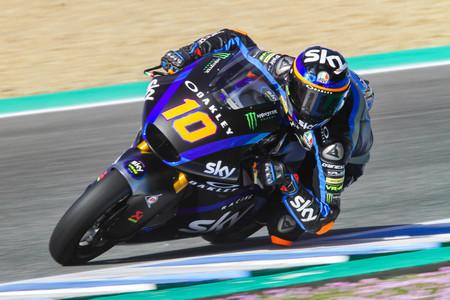 Luca Marini Test Jerez 2