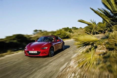 Mazda MX-5 RF patente