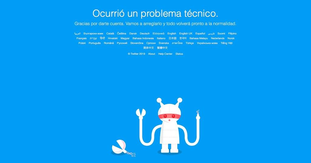 Twitter no funciona: ahora mismo hay reportes de una caída en gran parte del mundo