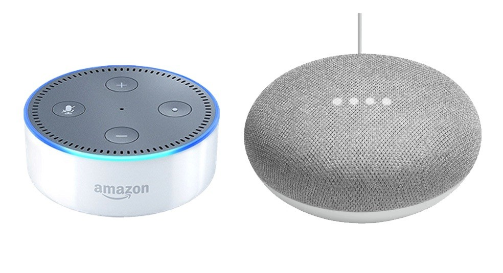 Google Home Mini vs Alexa Echo Dot: duelo en la variedad de entrada de altavoces intelligent