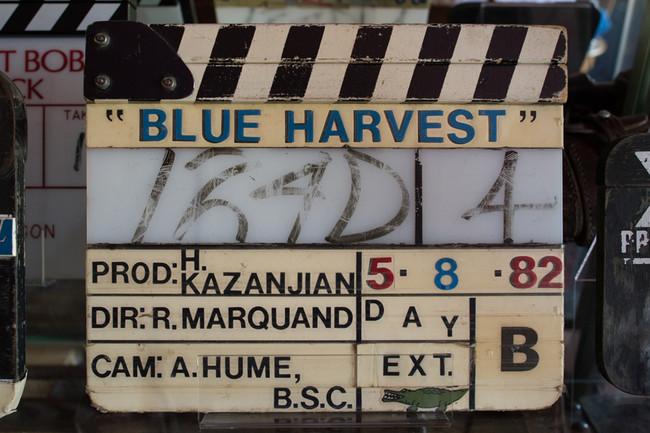 Claqueta Blue Harvest