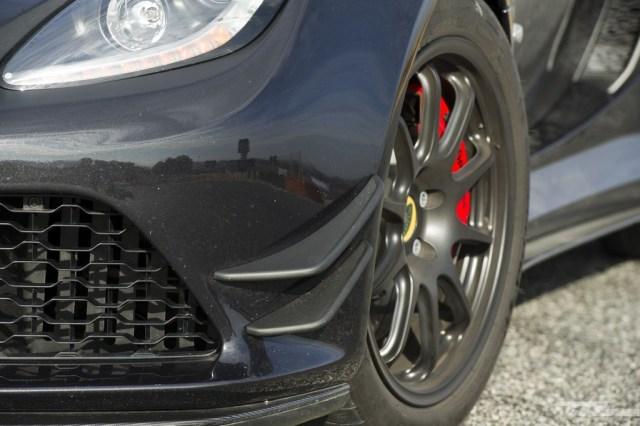 Lotus Exige 380 Sport alerones