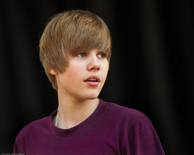 Justin Bieber At Easter Egg Roll