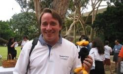 La primera línea de código de Linus Torvalds