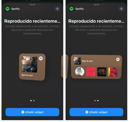 Spotify Widgets