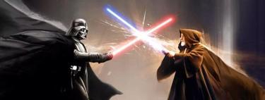 La pelea entre Obi-Wan y Darth Vader en 'Star Wars: Episodio IV' luce más espectacular que nunca cuando se añaden efectos digitales