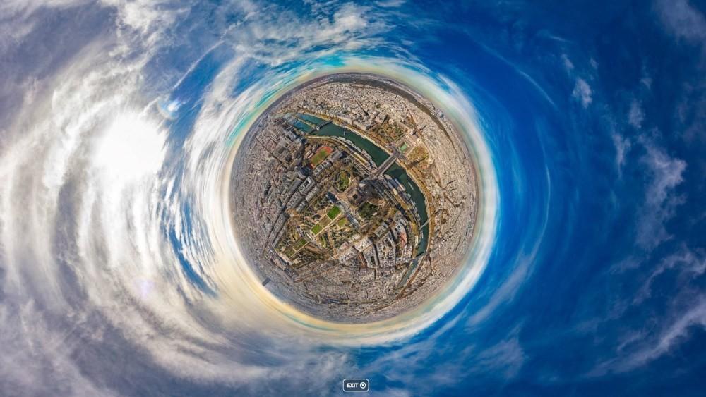 Observa París desde el aire y con todo detalle gracias a esta panorámica de 20 GigaPixels