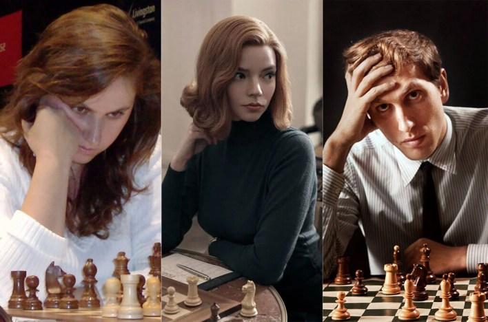 Beth, de 'Gambito de dama', es una mezcla de Bobby Fischer y Judit Polgár, cuyas historias son impresionantes... y reales
