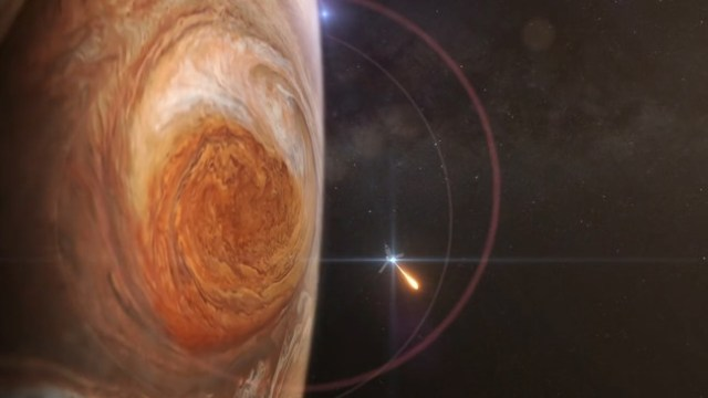 Jupiter Juno Red Spot