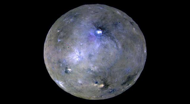 Ceres es un planeta enano activo: lo consideran un