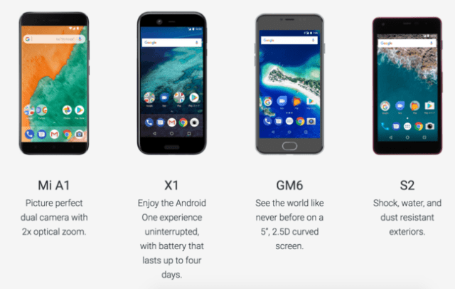 Android one móviles