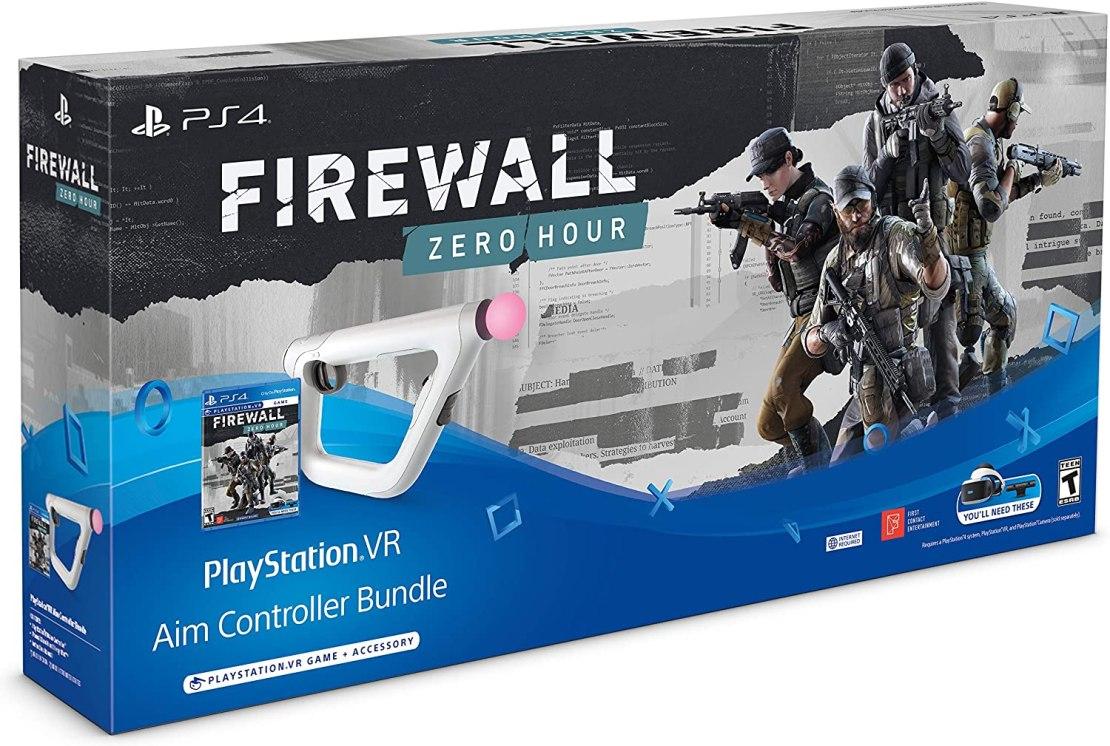 PlayStation4 VR - Firewall: Zero Hour + Aim Controller - Bundle Edition