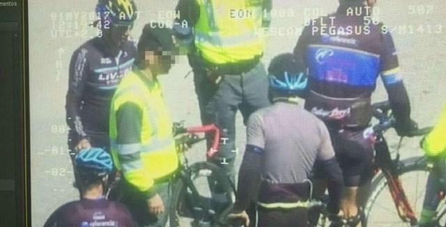 Pegasus Dgt Ciclistas Guarda Civil