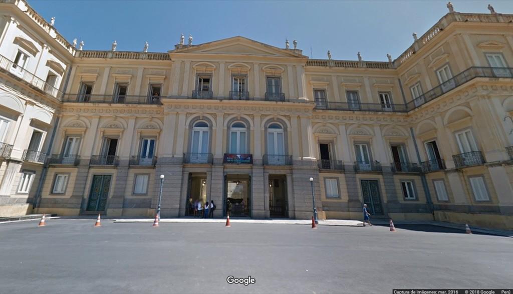 Google te permite visitar virtualmente el Museo Nacional de Brasil antes del terrible incendio