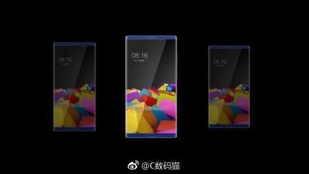 Xiaomi Mi Note 3 Render
