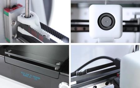 Some details of the Migo printer