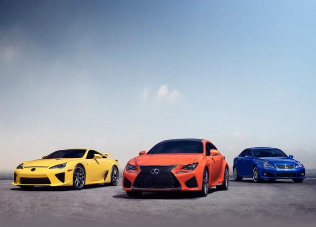 Lexus F diez años