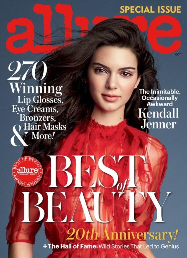 Allure:   Kendall Jenner