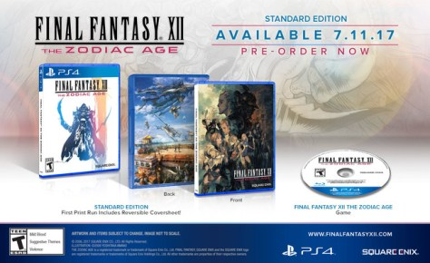 Final Fantasy Xii The Zodiac Age Edicion Estandar