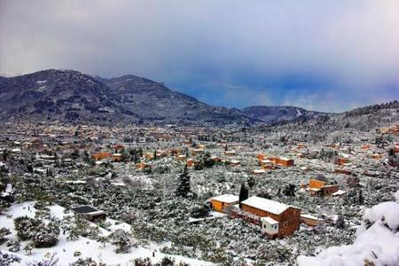 Snow in Mallorca