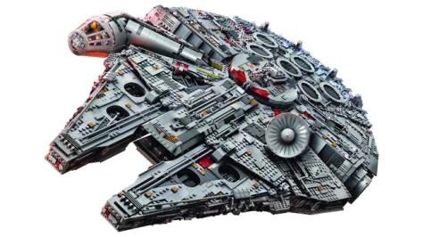 Millennium Falcon Lego 7