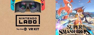 Así se ve y se juega a Super Smash Bros. Ultimate con la realidad virtual de Nintendo Switch