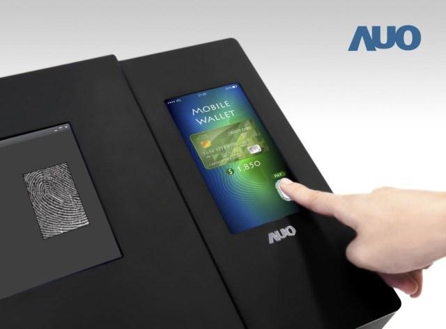 El 1er lector de huellas entrado en un LCD ya está aquí: es óptico, ocupa todo el panel y lo ha fabricado AUO
